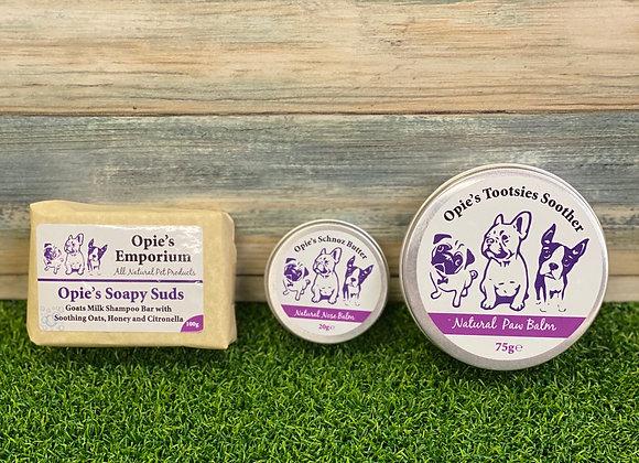 Opie's Mini Grooming Gift Set