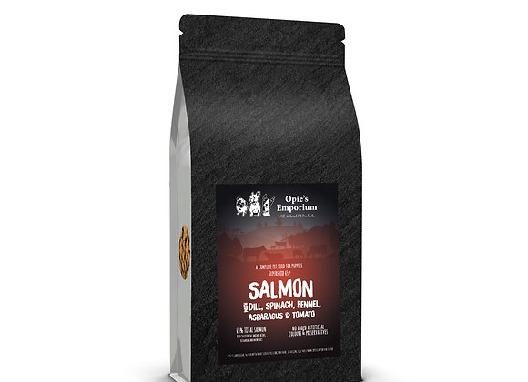 Opie's Salmon Puppy Dry Complete Dog Food