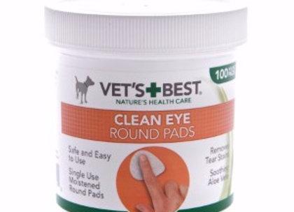 Vets Best Clean Eye round pads