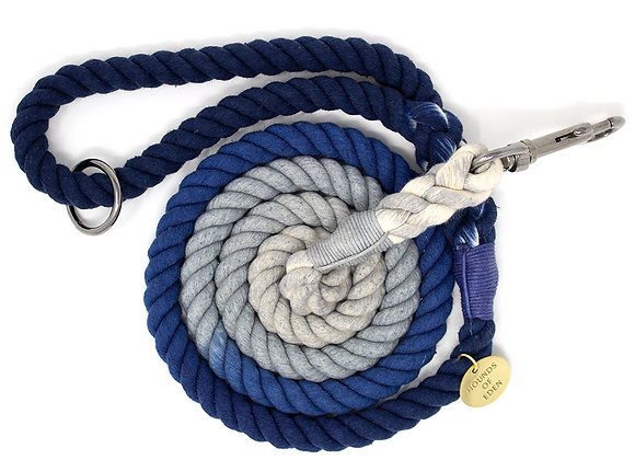 Hounds of Eden - Ombre Cotton Rope Dog Lead