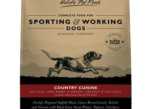 Eden 80/20 Country Cuisine Working and Sporting Dog Food