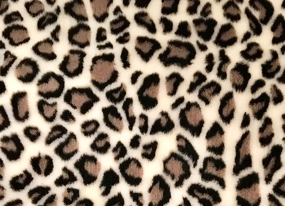 Vet Bed -Leopard Print