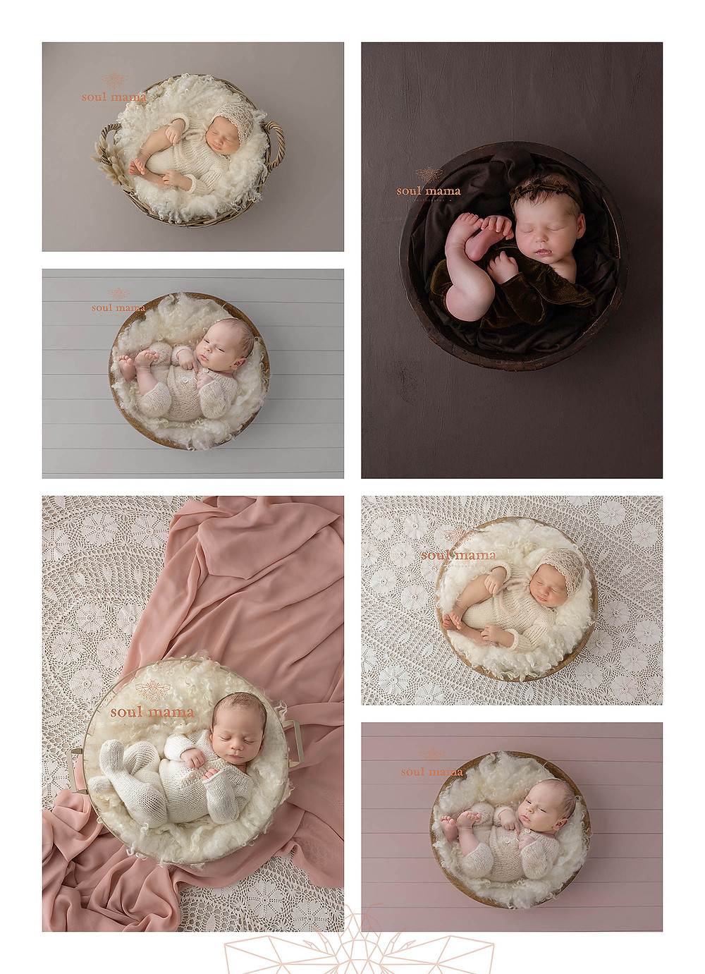 Newborn Digital Composites from Soul Mama Photography Point Cook