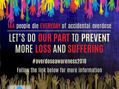 Overdose Awareness Day 2018!