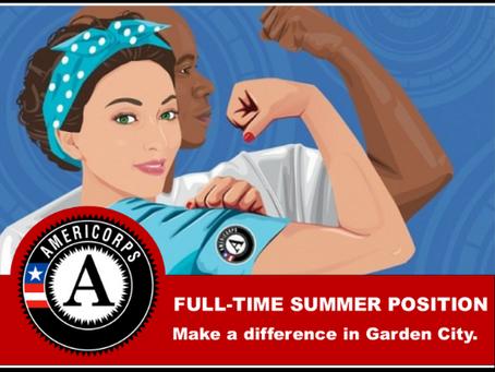 AmeriCorps VISTA Summer Associate: Hired!