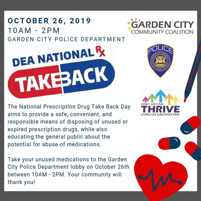 National Rx Drug Take Back Day 2019