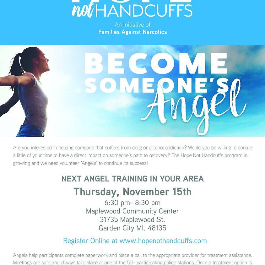 Angel Training // Hope Not Handcuffs