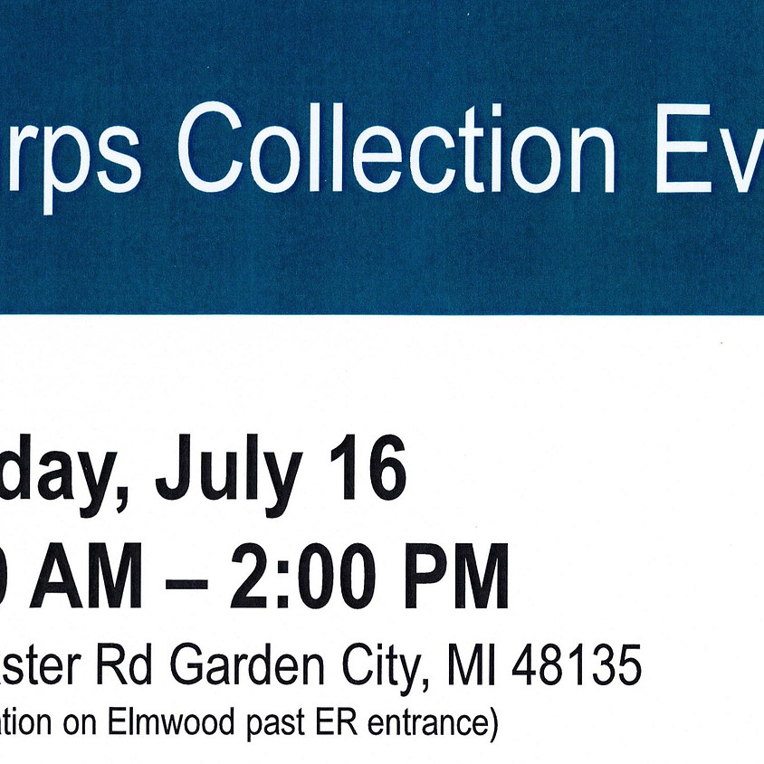 Sharps Collection Event