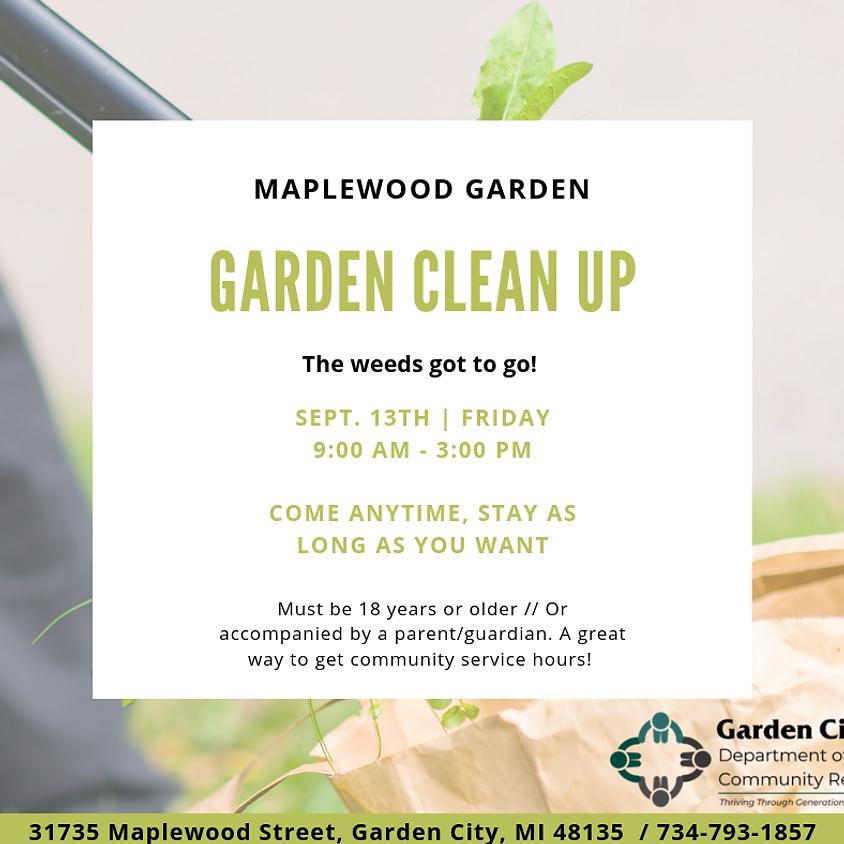 Garden Clean Up /  Volunteer Event