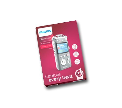 Grabadora Digital Philps Voice Tracer DVT7500 16GB