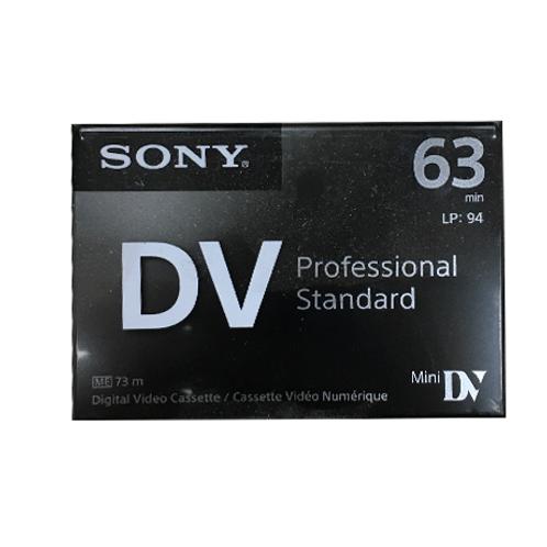 Cinta de Grabación Mini DV Sony.