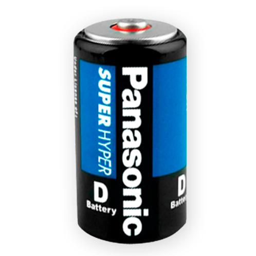 "Pila Panasonic ""D"" Carbón"