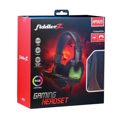 Audífono Gamer Fiddler Headset FD-HP805