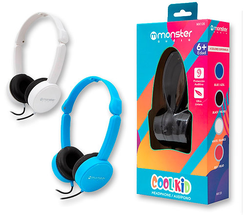 Audífonos para niños Monster Cool Kid MXX-120