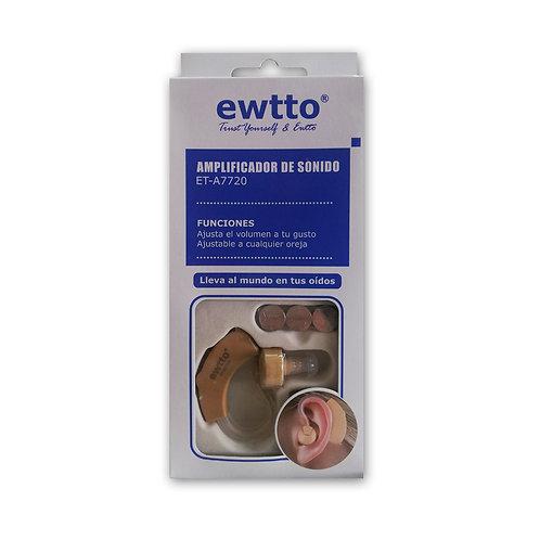 Amplificador de sonido Ewtto