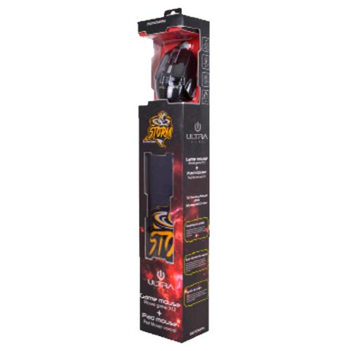 Kit Storm Ultra Mouse Gamer + Mousepad