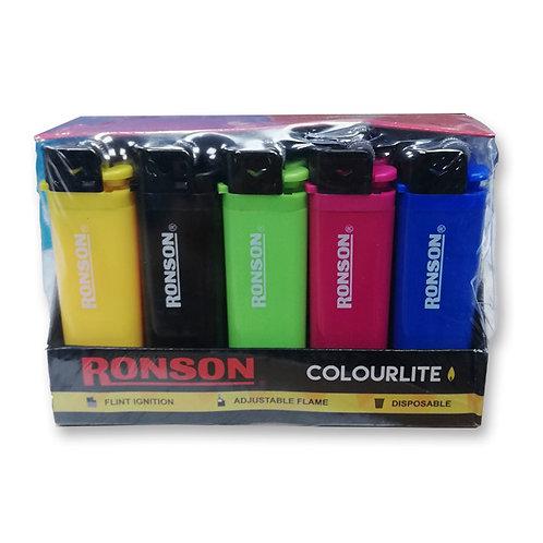 Encendedor Ronson solido 20 Uni.