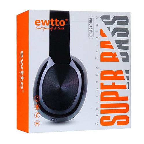 Audifono  Ewtto Super Bass ET-A4349B