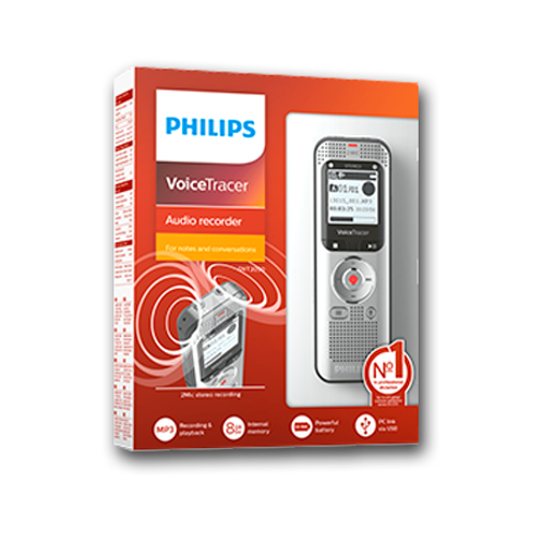 Grabadora Digital Philps Voice Tracer DVT2050 8GB