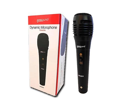 Micrófono Prosound Dinámico Tipo Económico Pr301