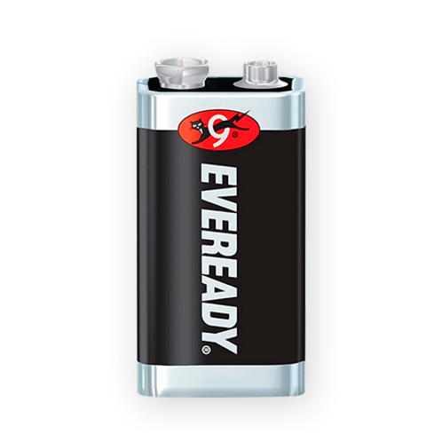 Bateria Eveready 9V Carbón