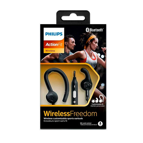 Audifono Deportivo Bluetooth Philips SHQ7800BK
