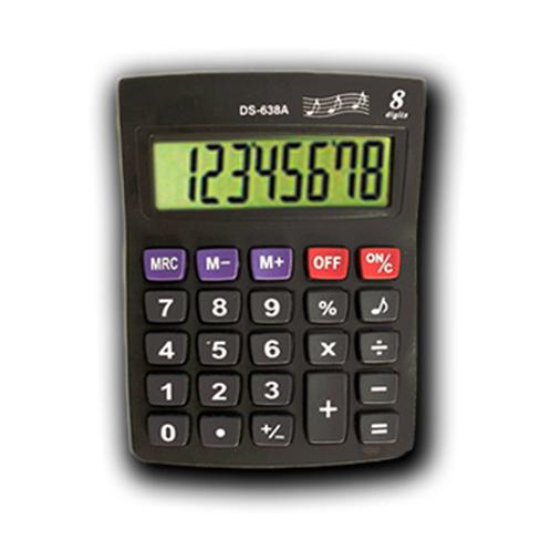 Calculadora DS-638A 8 dígitos