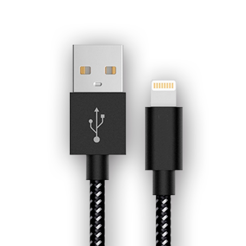 Cable IPHONE Ultra 1,5 Mts. reforzado