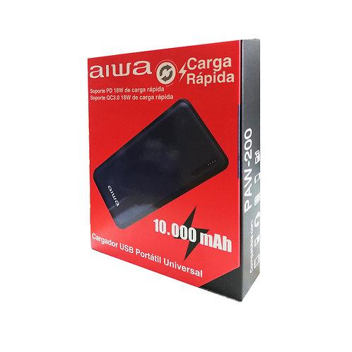 Cargador portátil AIWA carga rápida 10000 mah
