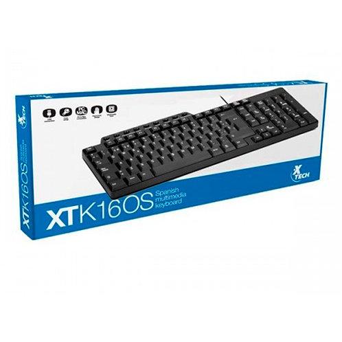 Teclado multimedia en español XTK-160S