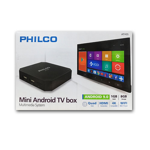 TV Box Philco 4k / Quad Core 1Gb Ram