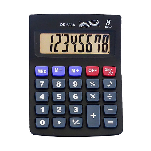 Calculadora DS-638A 8 dígitos