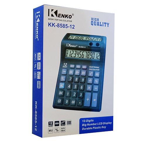 Calculadora Kenko 12 dígitos doble visor  KK-8585-12
