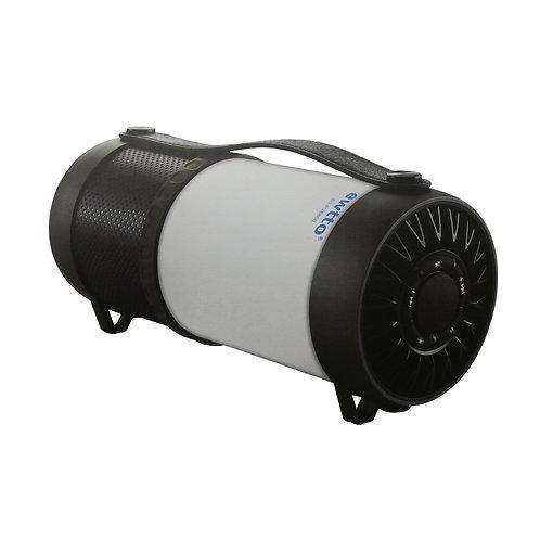 Parlante con luz Ewtto X-BASS wirless / USB / LED / FM / AUX IN