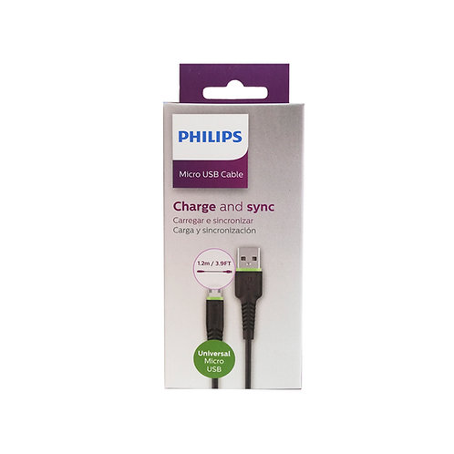 Cable USB a Micro USB Philips