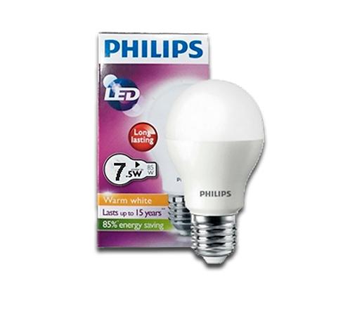 Ampolleta Philips 7W Blanca