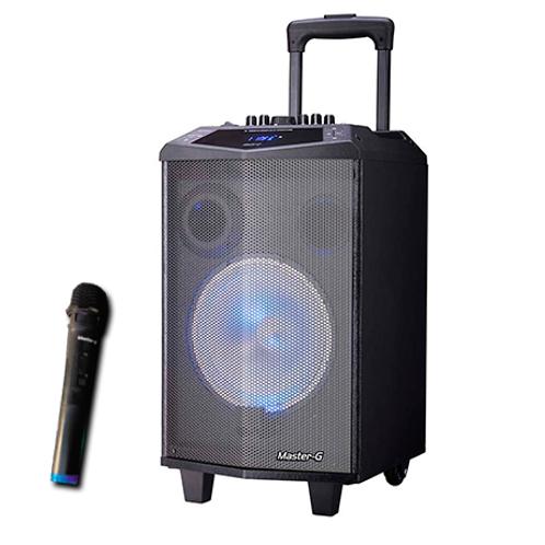 "Parlante Portátil con Bluetooth 8"" - Master-G"