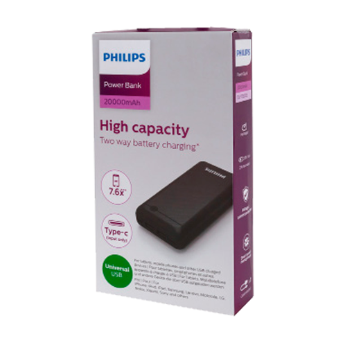 Powerbank Philips 20.000 mAh