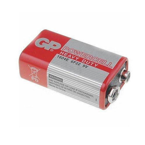 Bateria GP Carbón 9V 10 uni.