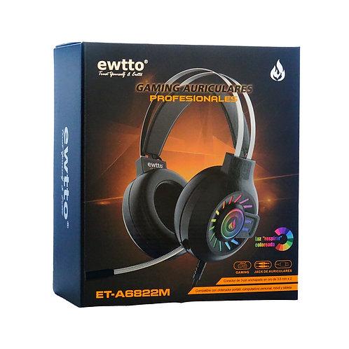 Audífono Gaming Ewtto ET-A6822M