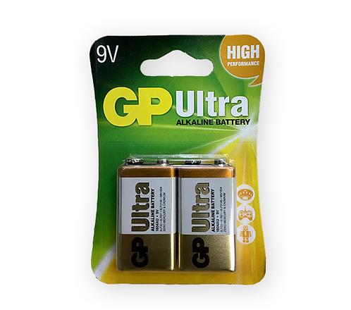 Bateria GP Alcalina 9V Ultra