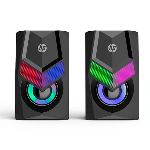 Parlantes Gamer HP LED PC DHE-6000