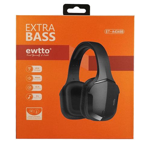 Audifono Bluetooth Ewtto Extra Bass ET-A4349B