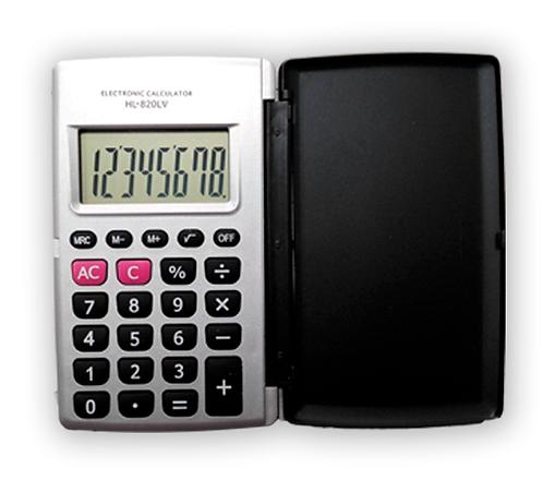 Calculadora de bolsillo KK-820 8 dígitos
