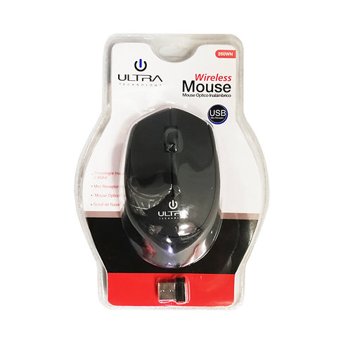 Mouse Philco inalámbrico USB