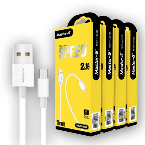 Cable micro USB Master-G 1Mts.