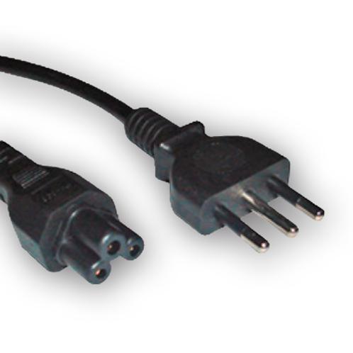 """Cable de poder tipo """"Trébol"""""""