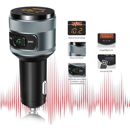 Transmisor Audio Bluetooth Mp3 Fm