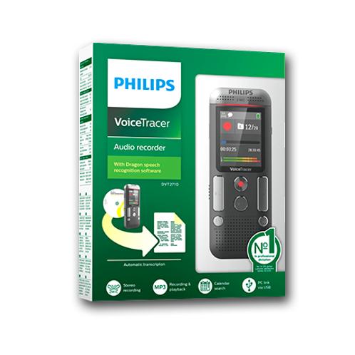 Grabadora Digital Philps Voice Tracer DVT2710 8GB