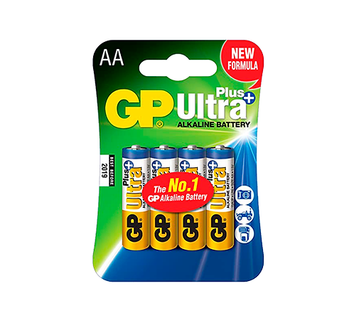 "Pila GP Alcalina ""AA""Ultra Plus"